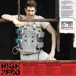 High Zero 2012, Poster