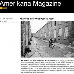 Amerikana Magazine interview