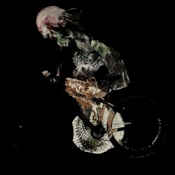 After Muybridge, After Marey: Female Cyclist - Left Lateral View, 2009
