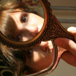 Grandmother Hand Mirrors
