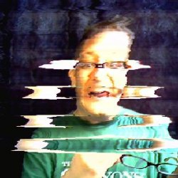 Image created in the Photo Booth installed at ArtScape, Baltimore 2009